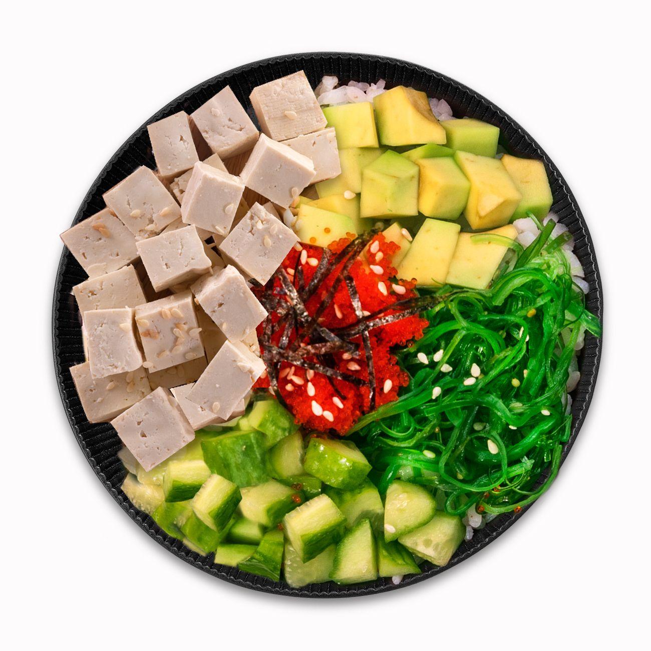 Поке с тофу стандарт