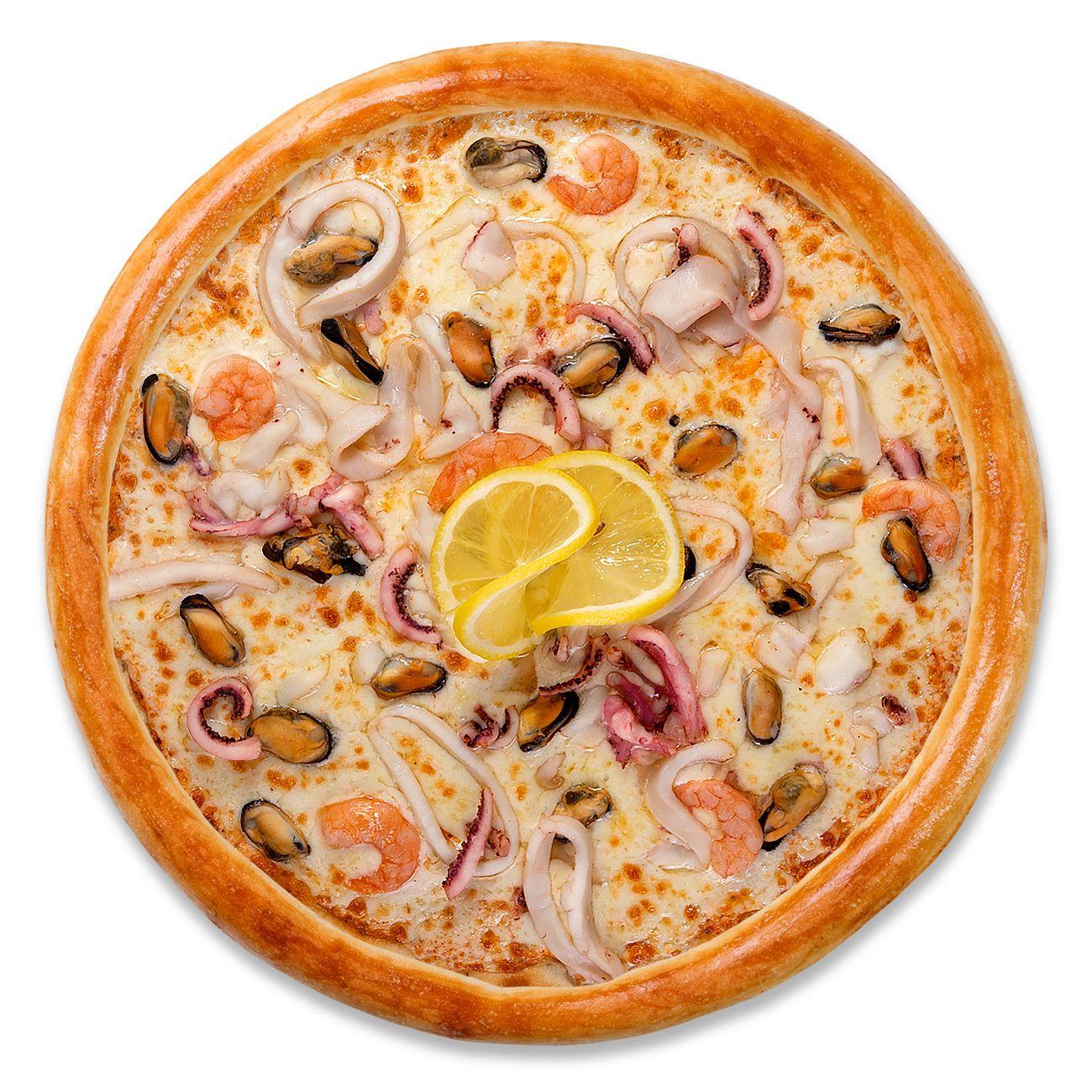 Пицца Дары моря стандарт